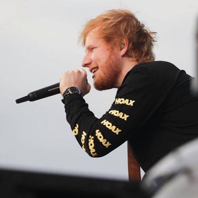Ed Sheeran a turnézás után a festésben talált örömet