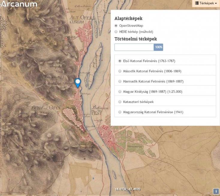 Ezen a térképen megnézheted, mi volt a házad helyén 250 évvel ezelőtt