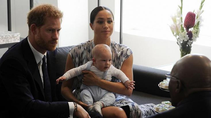 Drónfelvételeket készítettek Harry herceg és Meghan hercegné gyermekéről - a házaspár jogi lépéseket tesz