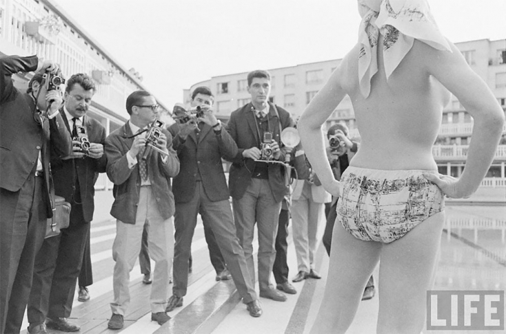 Így nézett ki 1964-ben a világ első monokinije - FOTÓK