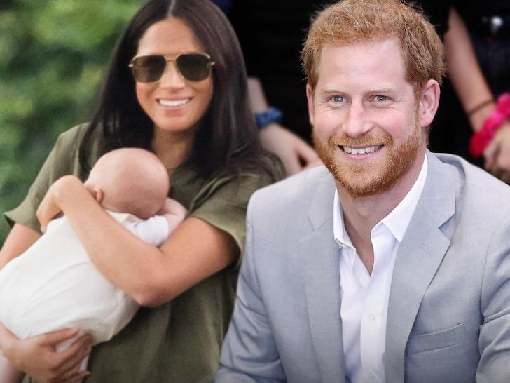 Kocsmázni vitte kisfiát Harry herceg és Meghan Markle - FOTÓ