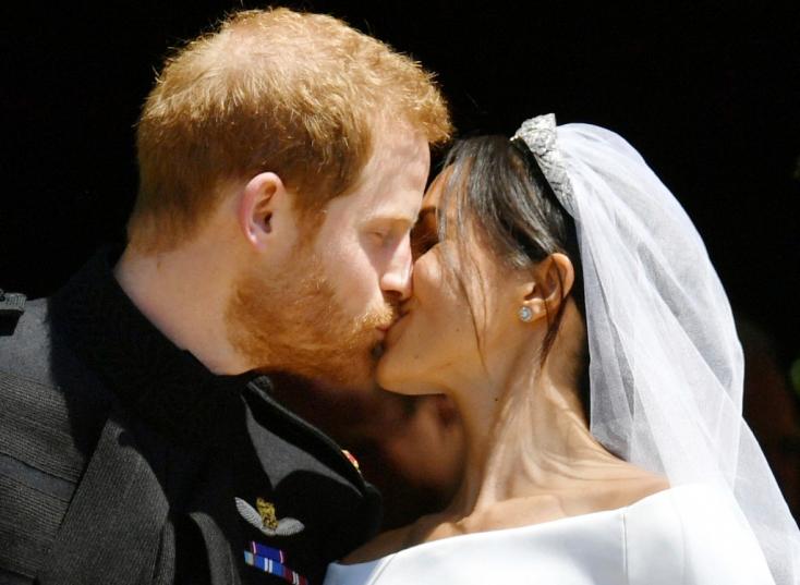 Ezt mondta Harry herceg Meghan Markle-nek közvetlenül a ceremónia kezdetén