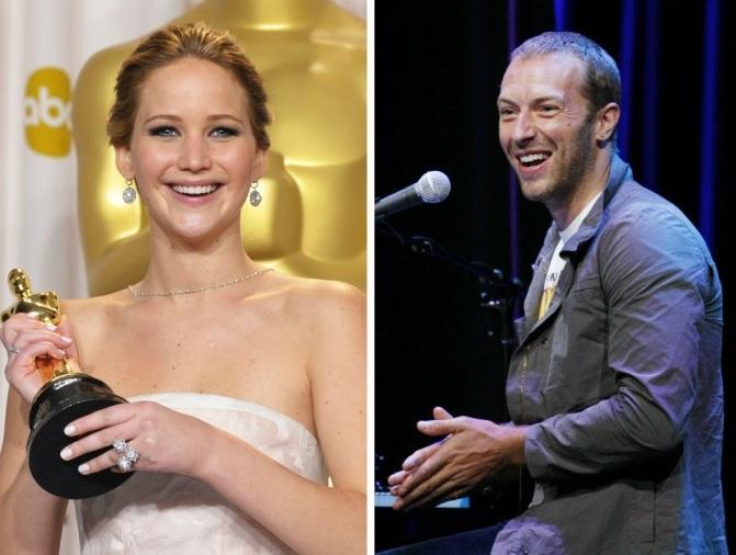Vége Chris Martin és Jennifer Lawrence románcának
