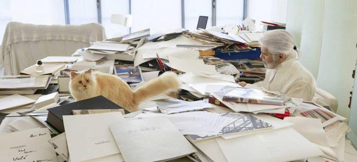 Befutott a nap híre: az elhunyt divatdiktátor cicájának mancsát milliók ütik