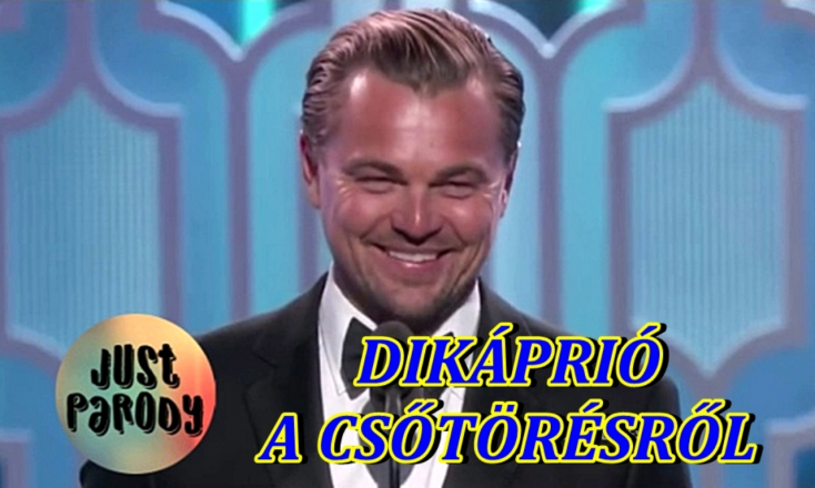 A Komáromi Jókai Színház színésze készítette a népszerű DiCaprio-paródiát