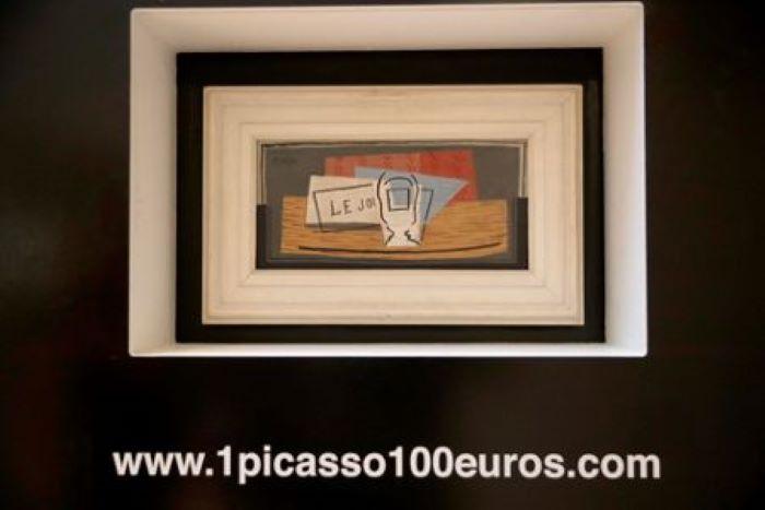 Egy olasz nő nyerte meg a jótékonysági célra felajánlott Picasso-képet