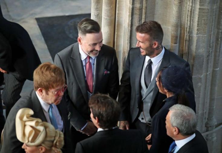 Ezek a hírességek bukkantak fel a hercegi esküvőn