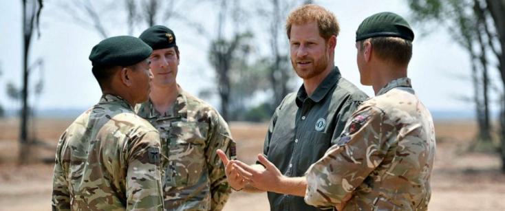 Az élővilág védelmére hívja fel a figyelmet kampányával Harry brit herceg