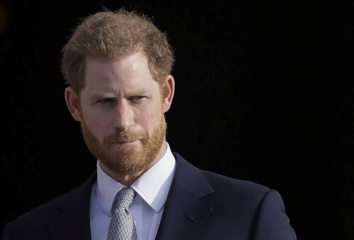 Harry herceg már Nagy-Britanniában van