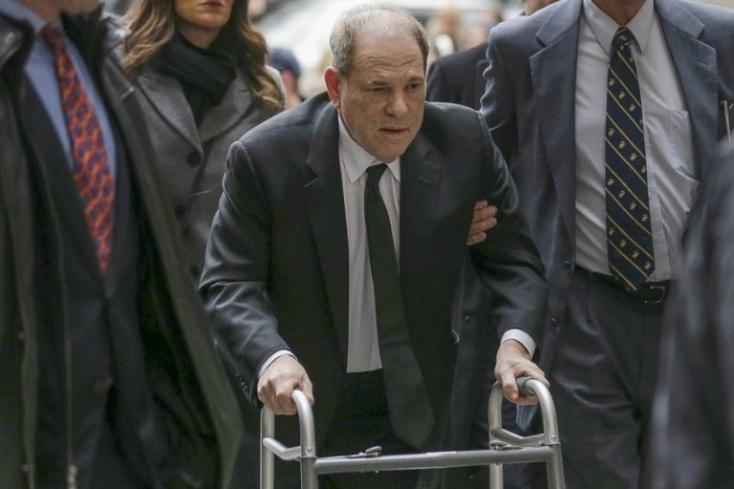 Los Angelesben vádat emeltek Harvey Weinstein ellen
