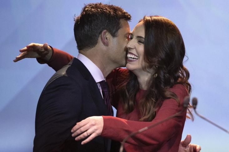 Megházasodik Jacinda Ardern új-zélandi miniszterelnök