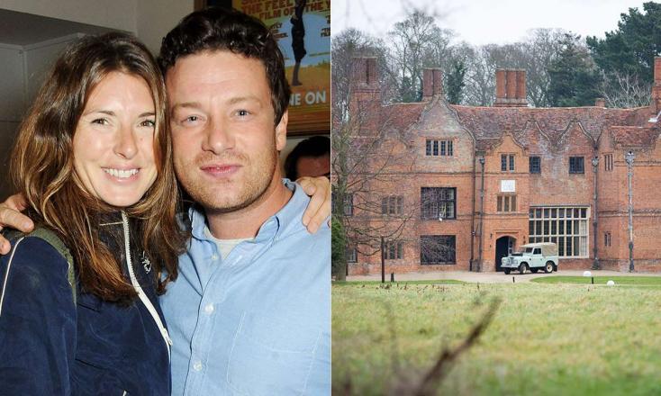 Álomkastélyba költözött Jamie Oliver a családjával