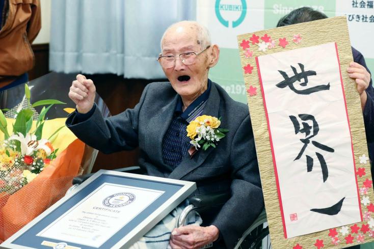A nevetés a hosszú élet titka a világ legidősebb férfija szerint