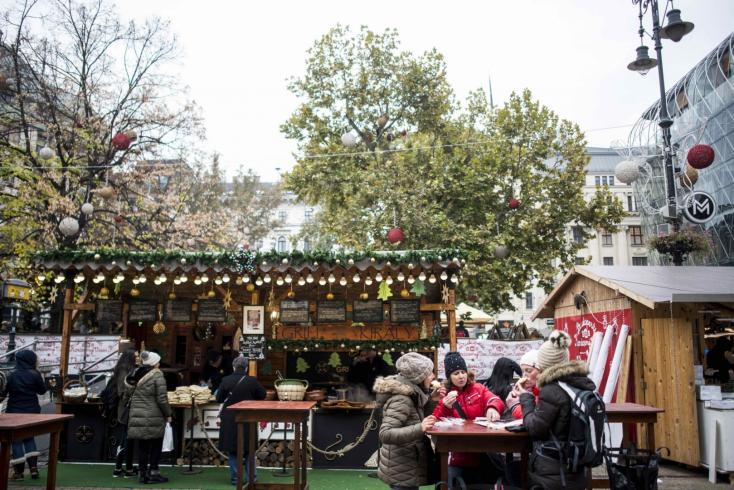 Budapesten már beköszöntött a karácsony