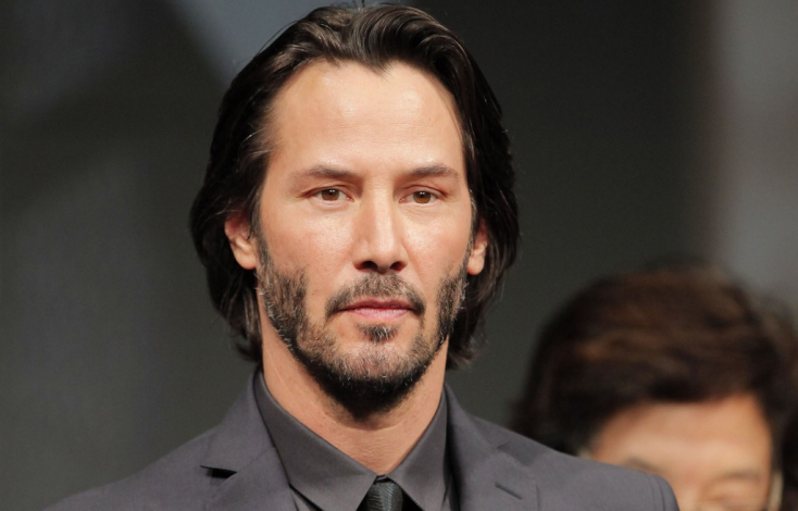FOTÓK! Keanu Reeves lett az Yves Saint Laurent arca