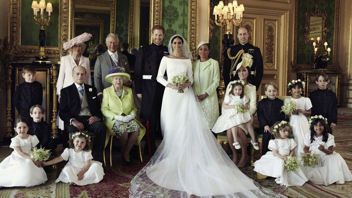 Nyilvánosságra hozták Harry sussexi herceg és Meghan hercegné hivatalos esküvői fotóit
