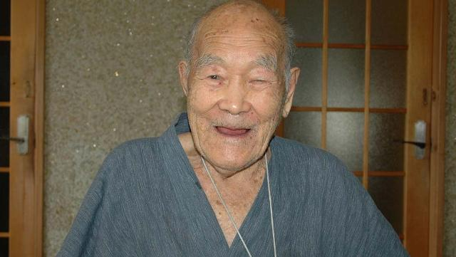 Egy 112 éves férfi a világ legidősebb embere