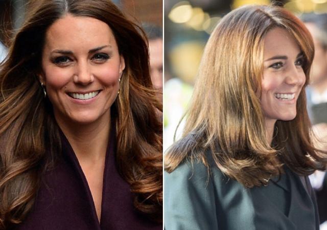 Katalin hercegné levágatta a haját