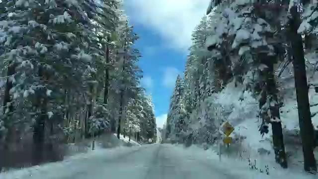 Úgy néz ki a behavazott nemzeti park, mint a mesékben (VIDEÓ)