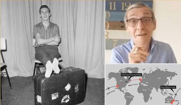 Segítőtársait keresi egy hatvan éve magát postázó férfi