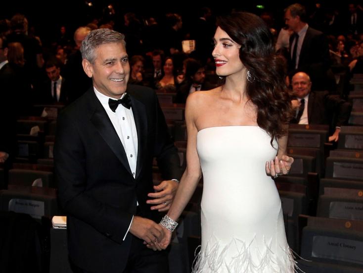 Megszülettek George Clooney-ék ikrei