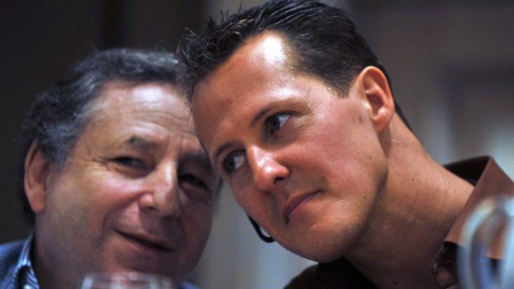 Jó hírek érkeztek Michael Schumacher állapotáról