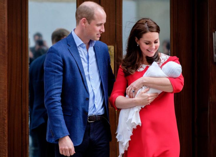 Így hívják Vilmos herceg és Katalin hercegné harmadik gyermekét