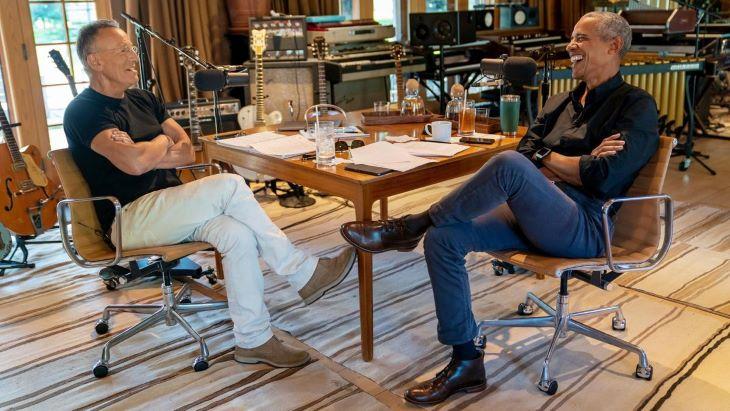 Barack Obama és Bruce Springsteen új podcastsorozatban beszélget (VIDEÓ)
