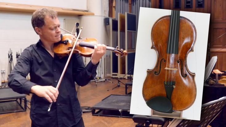 Vonaton felejtette 310 éves hegedűjét a zenész, de óriási szerencséje volt