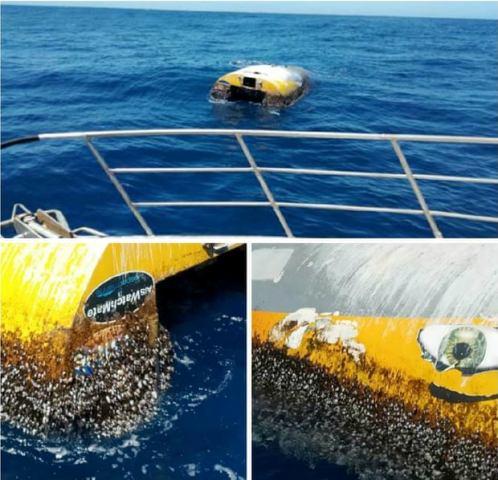 Az Indiai-óceánon találtak meg egy nyolc éve hányódó jachtot, amellyel egy tinédzser indult földkörüli útra