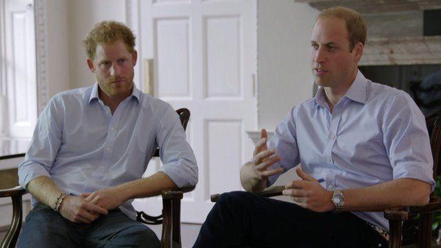 Édesanyjuk halála utáni nehézségekről vall Vilmos és Harry herceg
