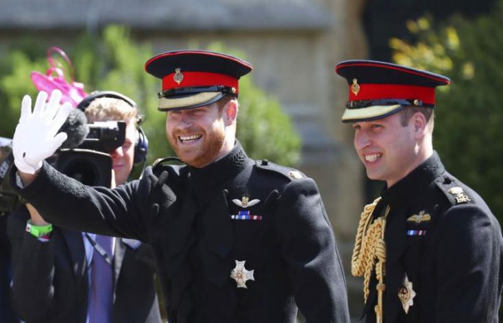 Vilmos herceg intim titkot árult el öccsének, Harrynek az esküvőre menet