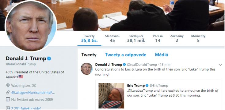 Nem találja ki, hányszoros nagyapa lett ma Trumpból!
