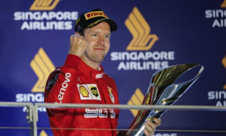 Sebastian Vettel háromgyermekes apuka lett