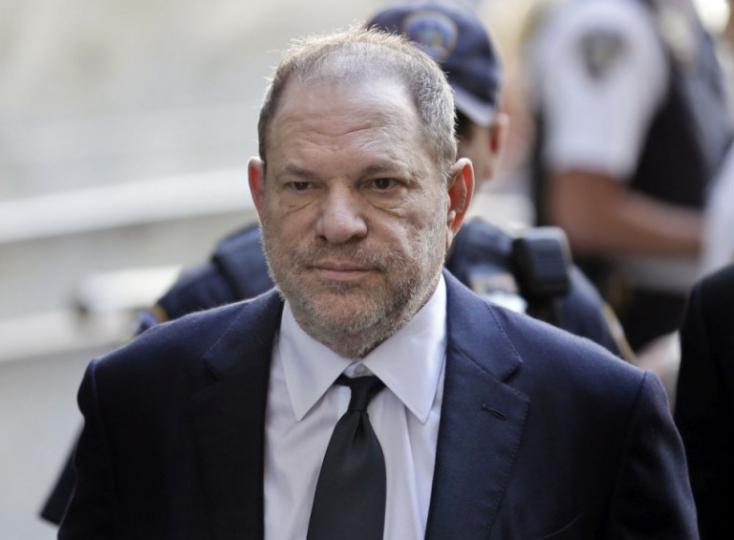 Nem ejtik Harvey Weinstein két szexuális zaklatási ügyét